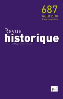 Subscription Revue historique