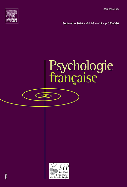 Subscription Psychologie française