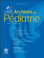 Subscription Archives de pédiatrie
