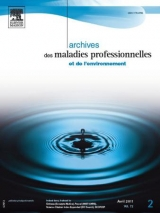 Subscription Archives des maladies professionnelles et de l'environnement