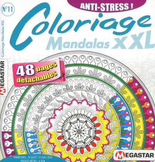 Subscription Coloriage Mandalas XXL