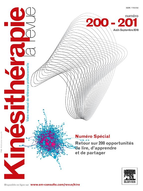 Subscription Kinésithérapie, la revue