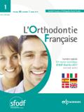 Subscription L'Orthodontie française