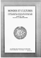 Subscription Mondes et cultures