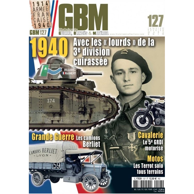 Subscription Guerres blindés et matériels – GBM