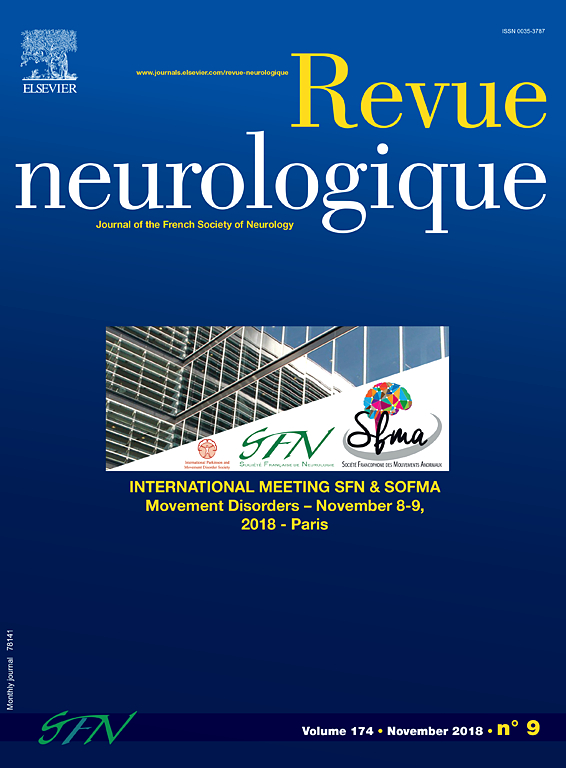Subscription Revue Neurologique