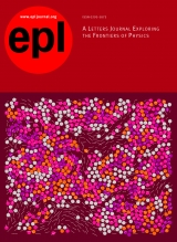 Subscription EPL – Europhysics Letters