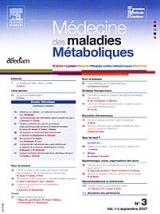 Subscription Médecine et Maladies Métaboliques