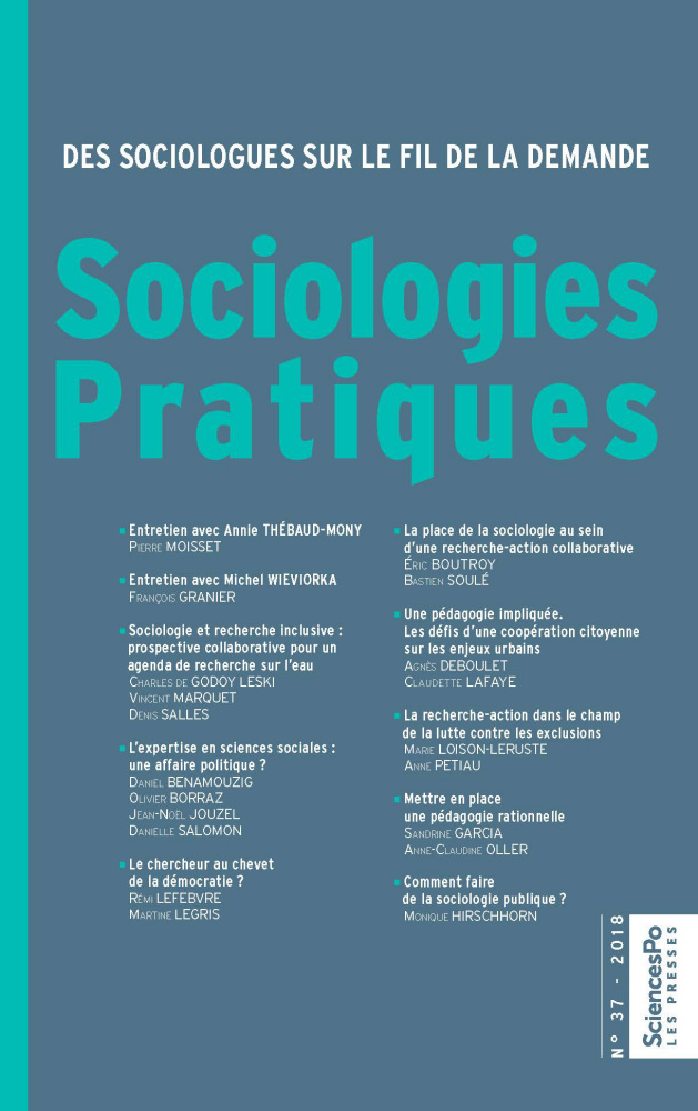 Subscription Sociologies Pratiques