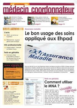 Subscription Journal du Médecin Coordonnateur