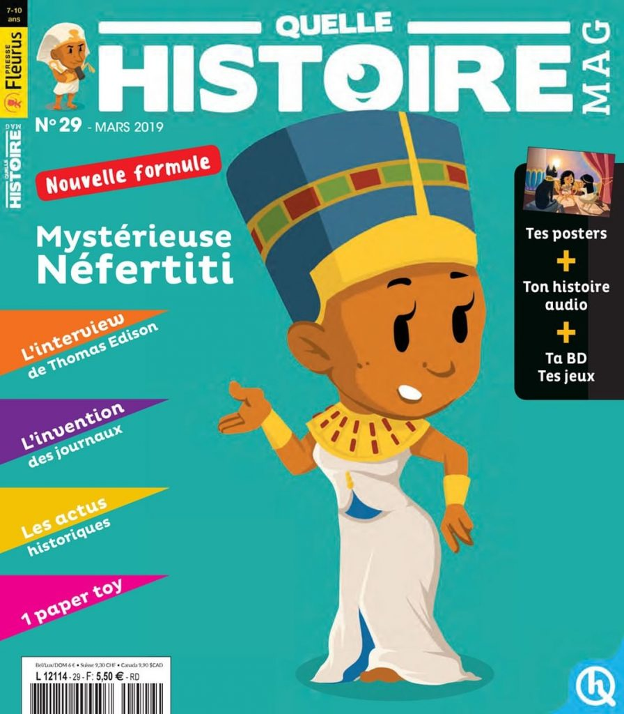 Subscription Quelle Histoire Mag