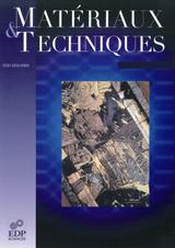 Subscription Matériaux et Techniques