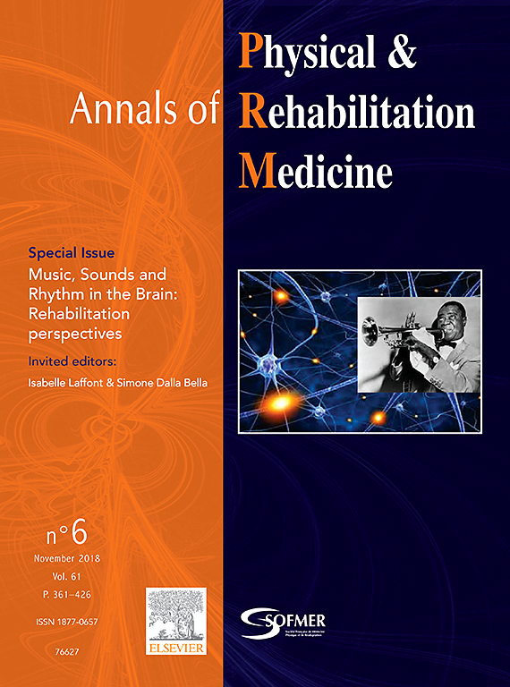 Subscription Annals of physical and rehabilitation medecine