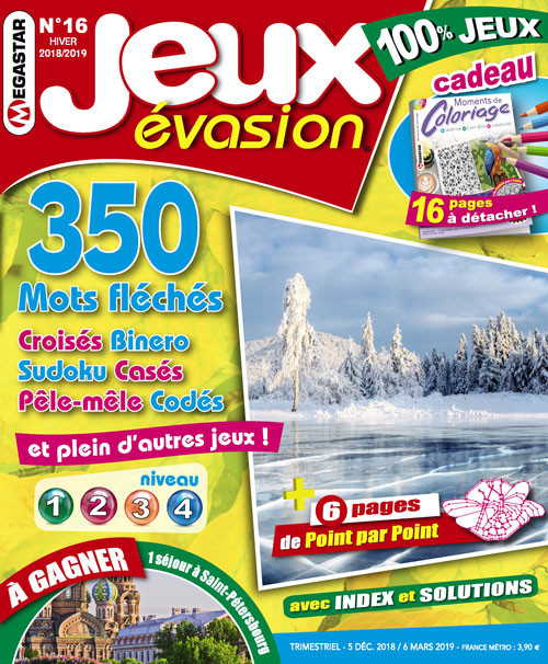 Subscription Jeux Evasion