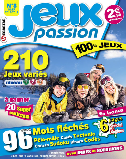Subscription Jeux Passion