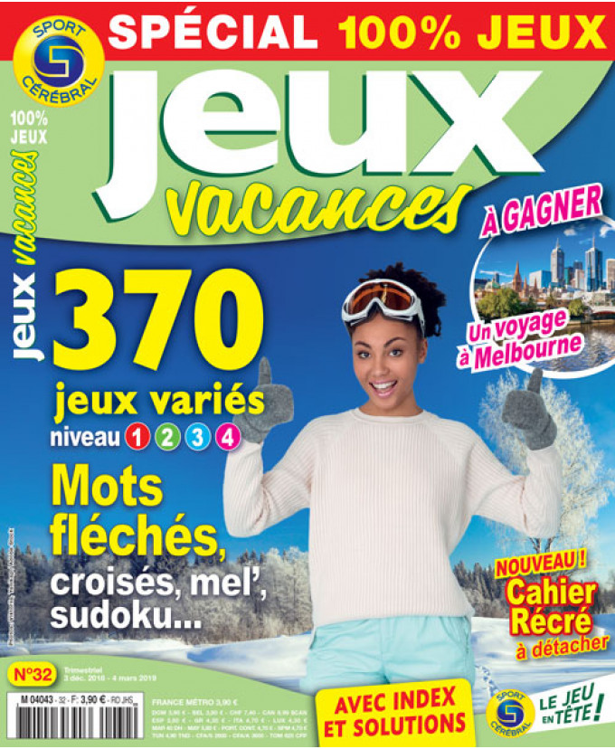 Subscription jeux vacances