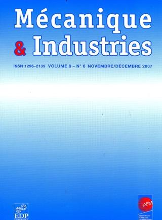 Subscription Mécanique et industries