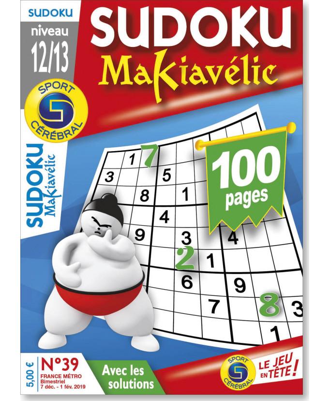 Subscription Sudoku Makiavelic