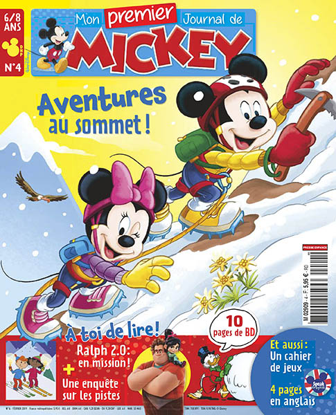 Subscription Mon Premier journal de Mickey
