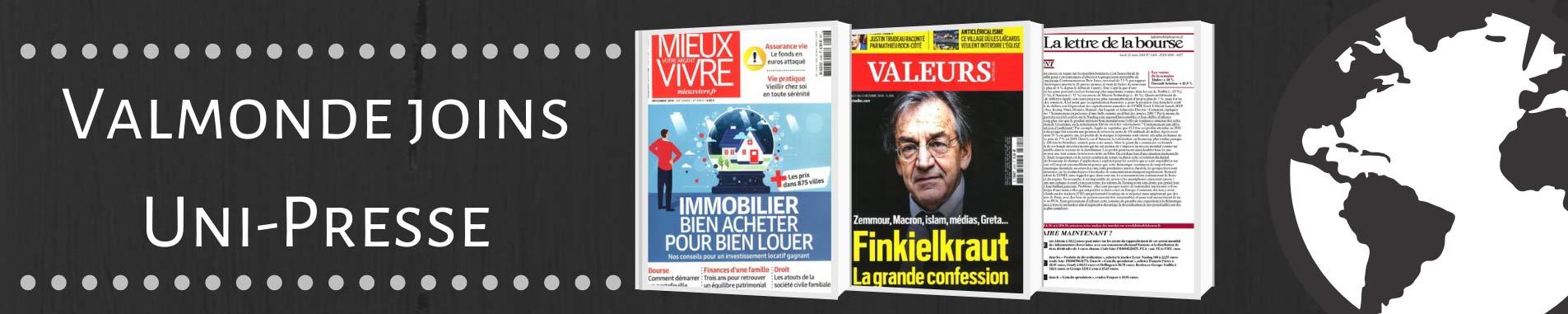 Valmonde joins UNI-Presse