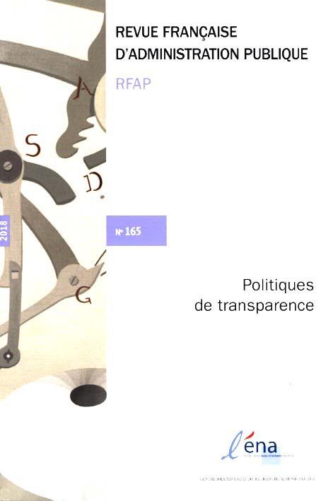 Subscription Revue Française d' Administration Publique