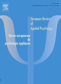 Subscription Revue européenne de psychologie appliquée