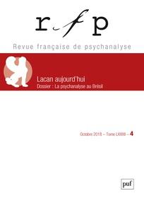 Subscription Revue française de psychanalyse