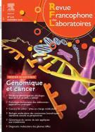 Subscription Revue francophone des laboratoires