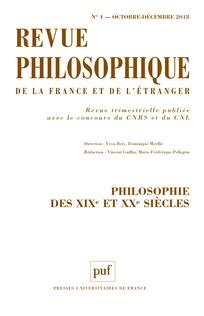 Subscription Revue philosophique