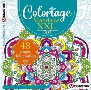 Coloriage Mandalas XXL