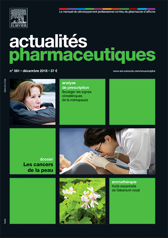 Subscription Actualités pharmaceutiques