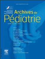 Subscription Archives de pédiatrie
