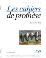 Subscription Les cahiers de prothèse
