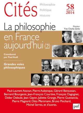 Subscription Cités- philosophie politique histoire