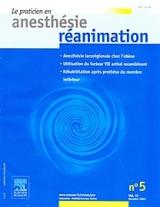 Subscription Le Praticien en anesthésie – réanimation