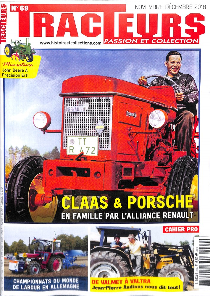 Subscription Tracteurs passion et collections