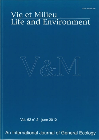 Vie et Milieu – Life and Environment