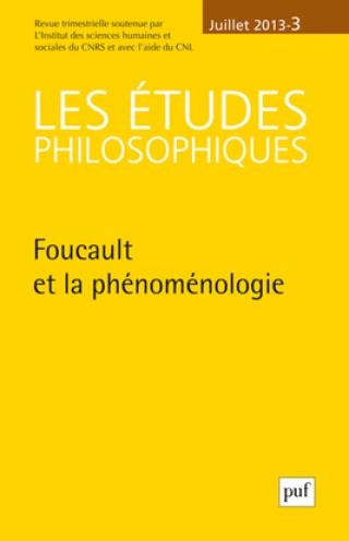 Subscription Les Etudes philosophiques
