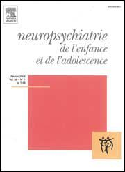 Subscription Neuropsychiatrie de l'enfance et de l'adolescence