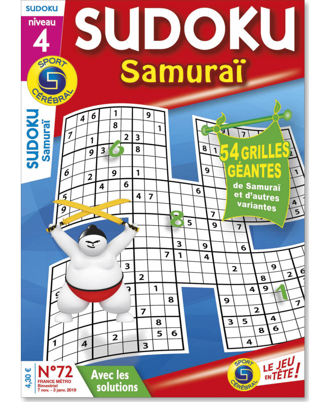 Subscription Sudoku Samuraï