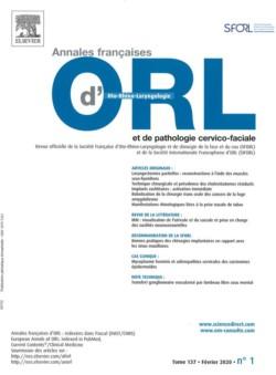 Annales française d'otolaryngologie