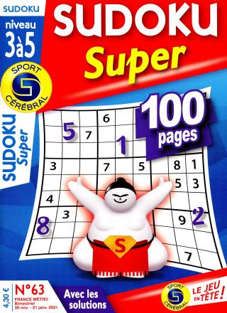 Sudoku Super level 3 to 5