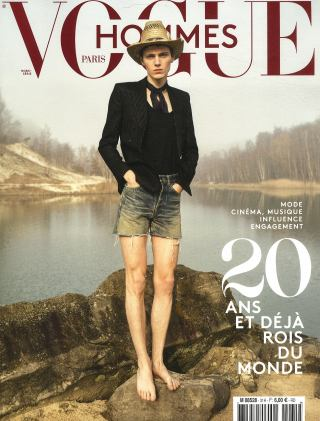 Subscription Vogue hommes international