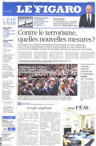 Subscription Le Figaro